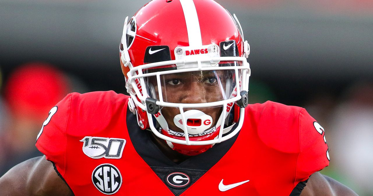 georgia football-georgia podcast-uga-zamir white