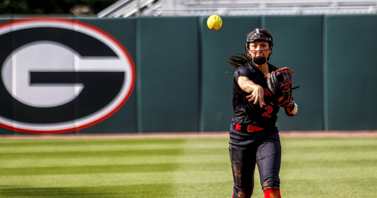 georgia softball-Justice Milz-sec-college softball