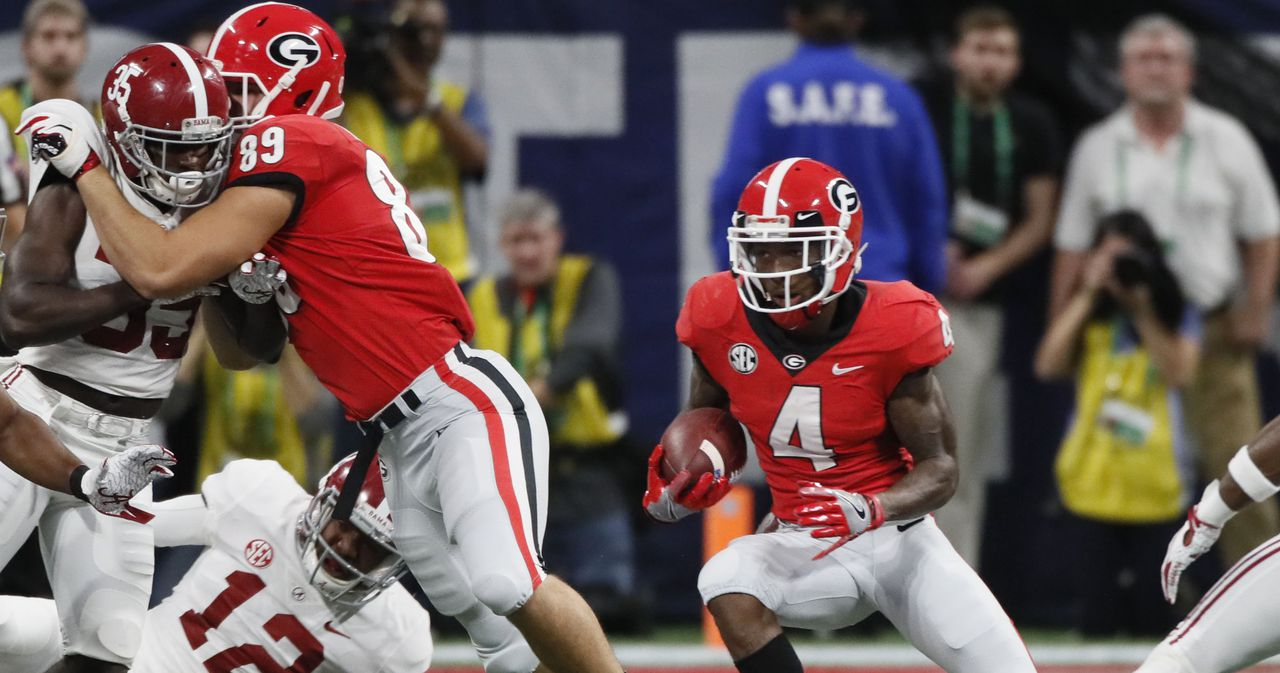 Georgia football-NFL Draft-Speed and potential make Mecole Hardman a valuable NFL commodity-Georgia Bulldogs