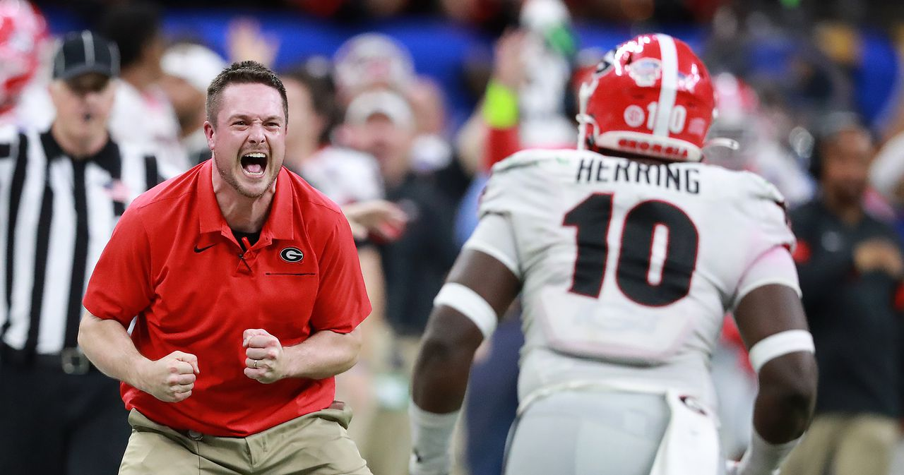 Georgia football-Dan Lanning-2020 season