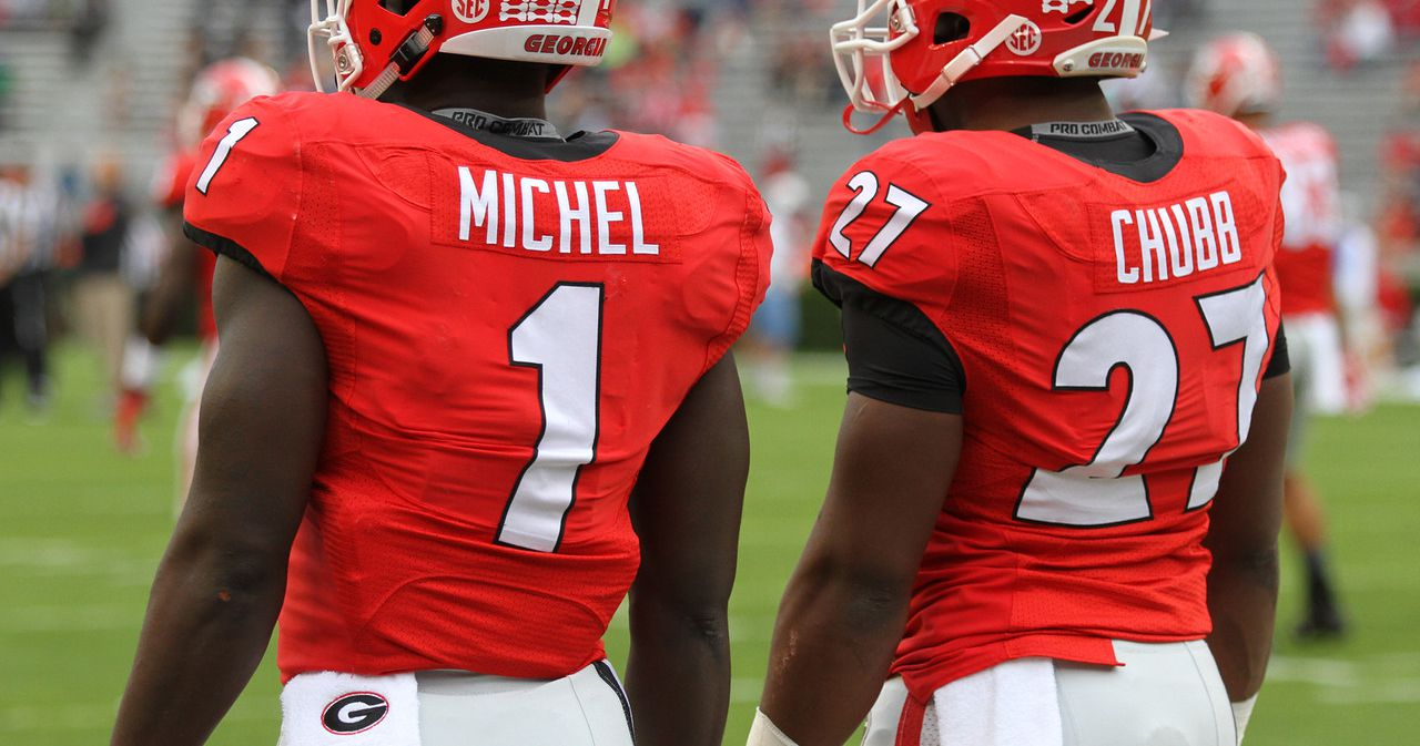 georgia football-georgia football podcast-nick chubb