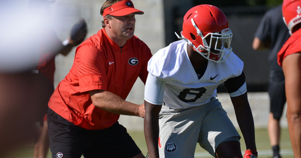 Georgia football-UGA-Kirby Smart-Deangelo Gibbs