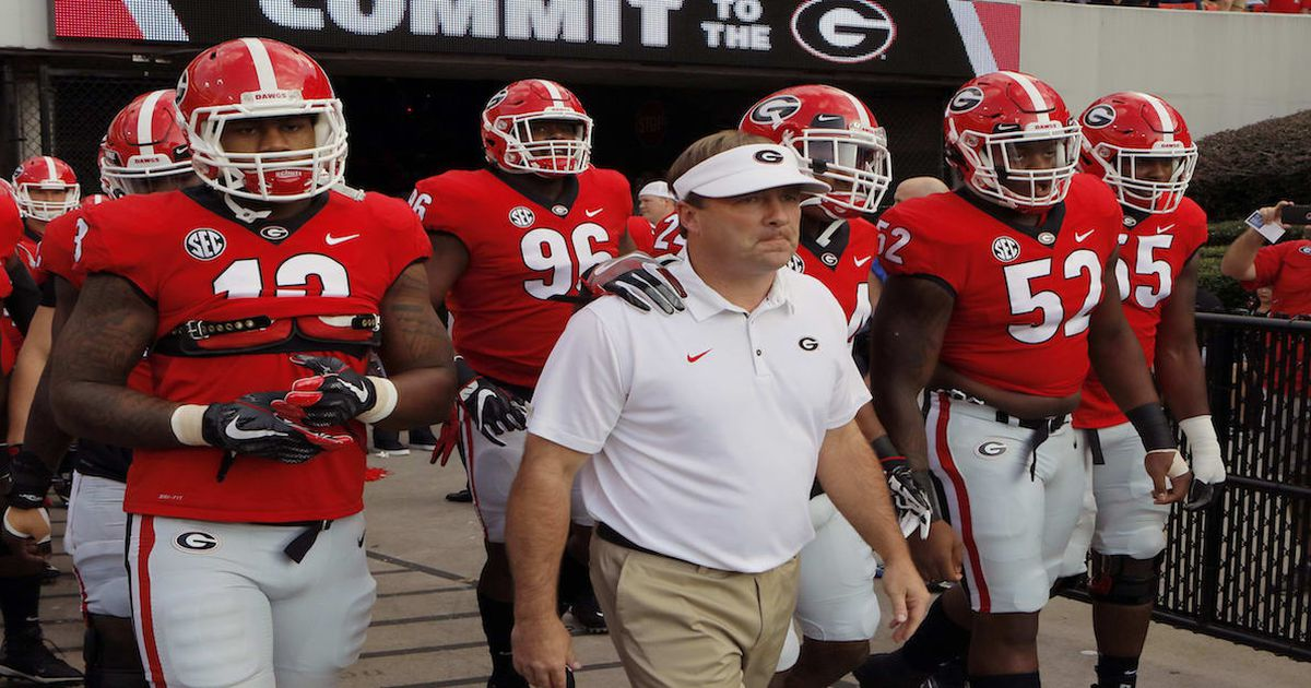 Georgia football-UGA-Kirby Smart-2018 schedule