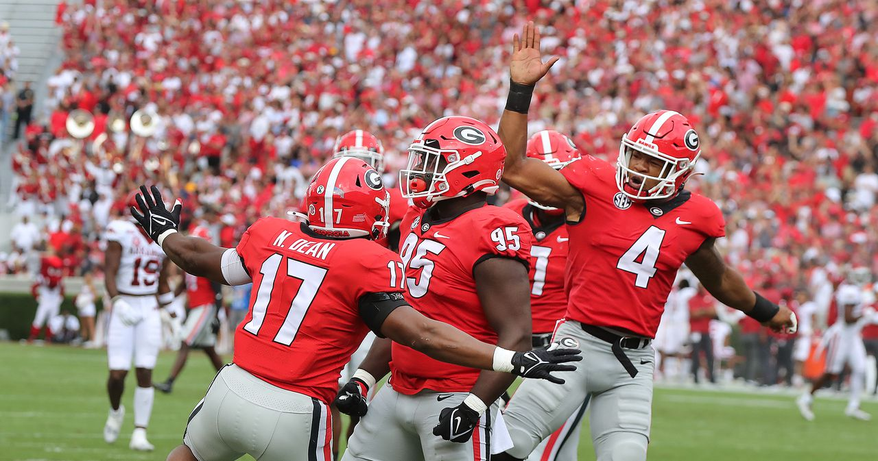 Georgia football defense equals a feat not done since 1980 in shutout of  Arkansas