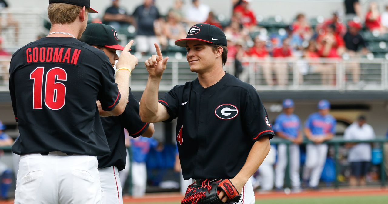 Georgia baseball-College baseball rankings-florida