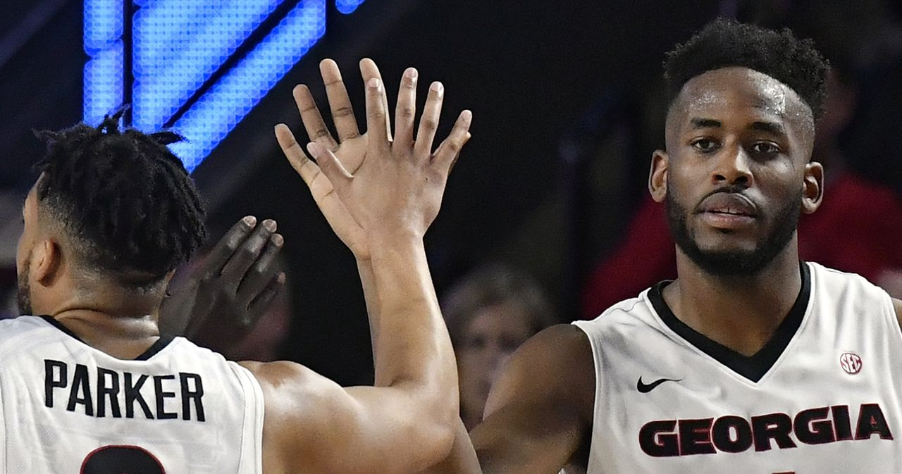 Yante Maten-AP player of the year-Associated Press-Georgia Bulldogs-Georgia basketball