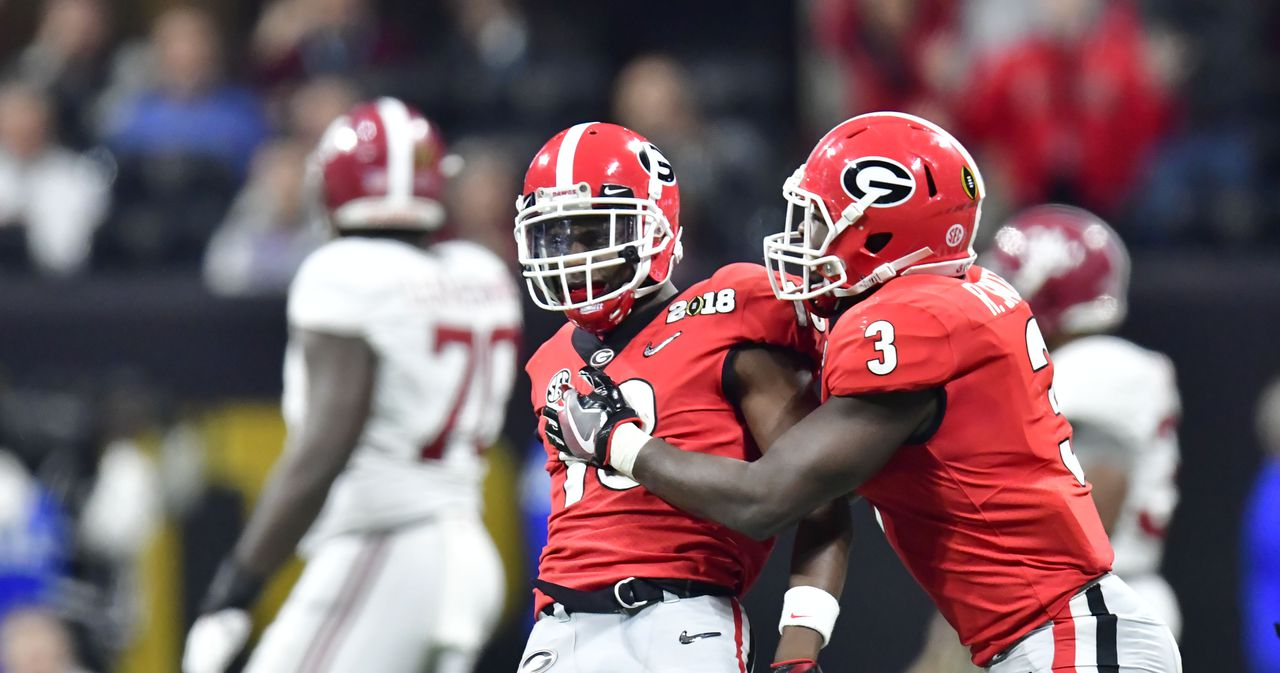 Georgia-Roquan Smith-college football playoff