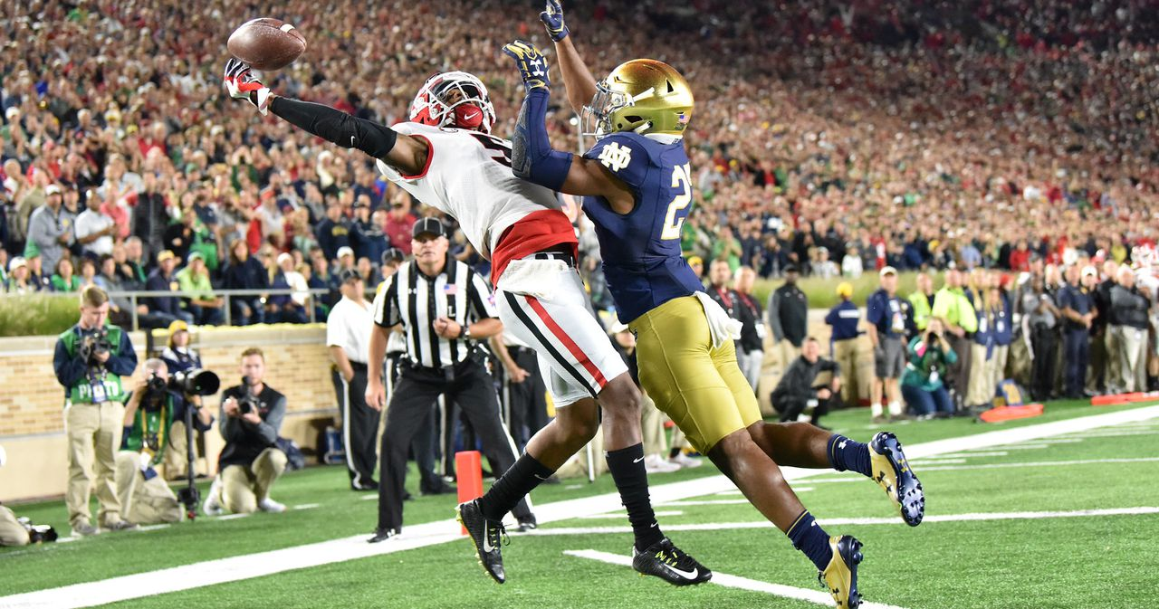 Georgia football-Senior Profile-Georgia WR Terry Godwin has come a long way since arriving as skinny kid from Hogansville-Georgia Bulldogs